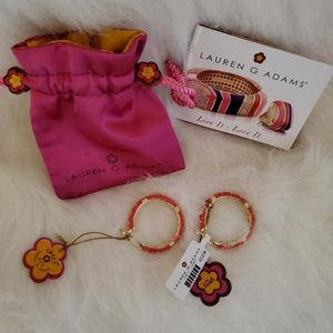 Lauren G Adams Hoop Earrings